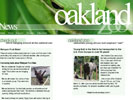 Oakland Zoo site redesign